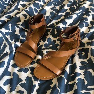 NWOT! Franco Sarto Sandals - brown leather